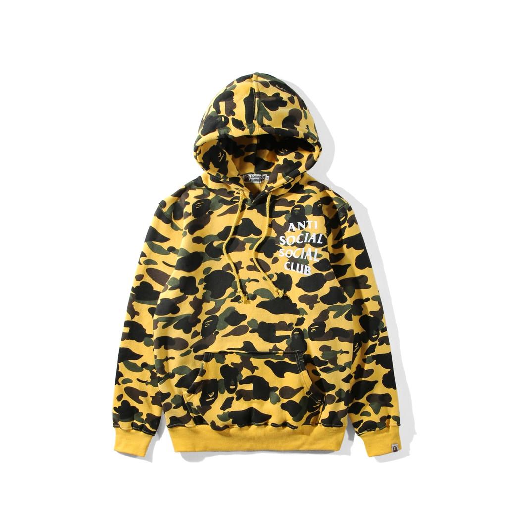 0e502f5347cb Blouse Bape fake zipper hoodies