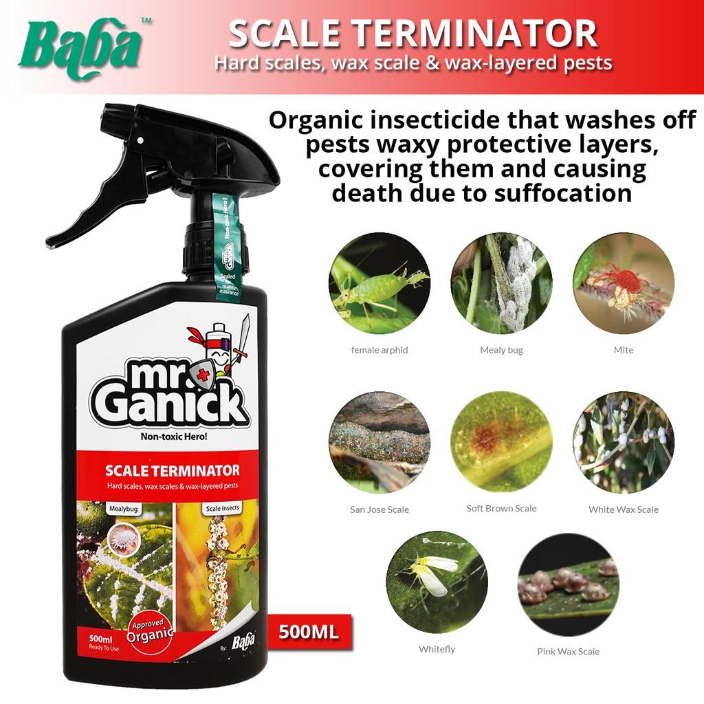 Baba Mr Ganick Scale Terminator Hard Scale, Wax Scale & Wax-Layered Pests 500ML