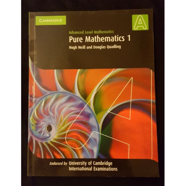 Cambridge International AS and A Level Mathematics:Pure Mathematics 1  Coursebook