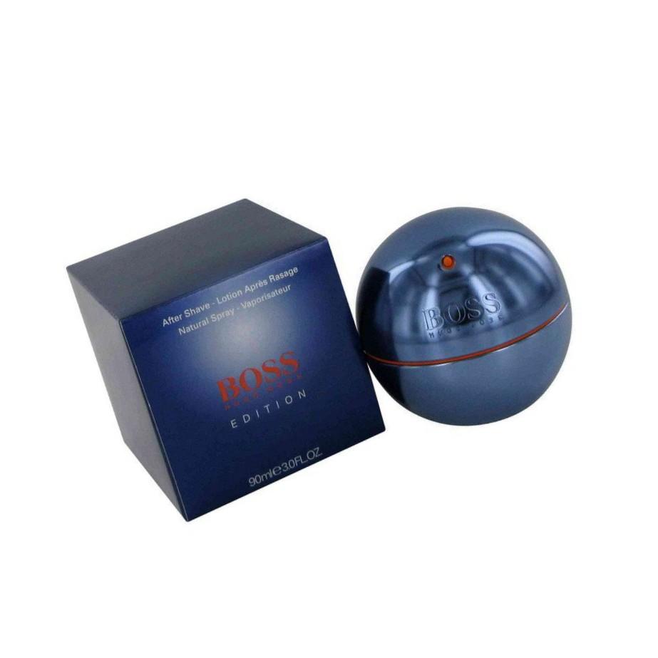 details for store the cheapest Hugo Boss in Motion blue cologne EDT 90ml