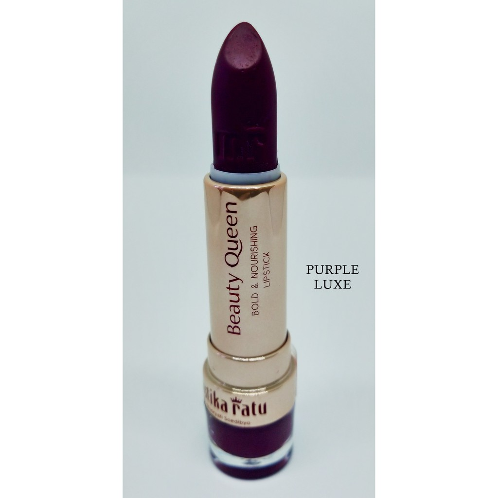 Mustika Ratu Beauty Queen Bold & Nourishing Lipstick PURPLE LUXE [Mustika Ratu]