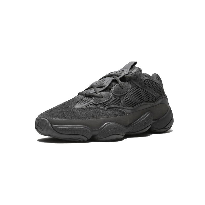competitive price 56081 0ca58 Original Adidas Yeezy Desert Rat Boost 500 Coconut Casual Shoes Black  Sneakers
