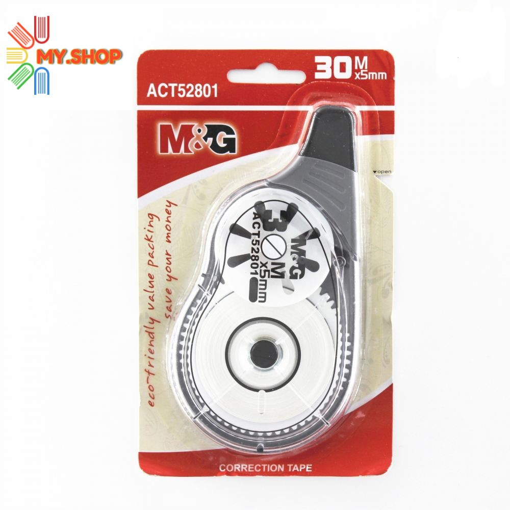 M & G 5mm x 30m  CORRECTION TAPE ACT52801
