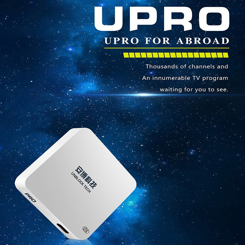 Unblock Tech TV Box UPRO Gen5 OS Version Smart TV BOX Streaming Media  Player Box