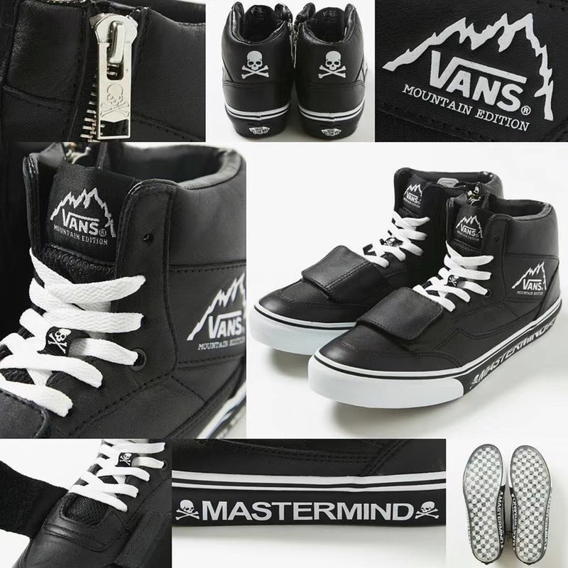 16b22daf12 Mastermind JAPAN x Vans Mountain Edition MMJ Mens   womens Plate shoes