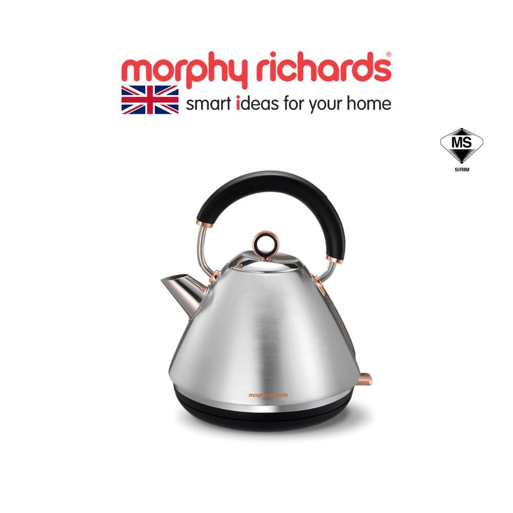 Morphy Richards Kettle Accents Rose Gold Brushed Metal 102105