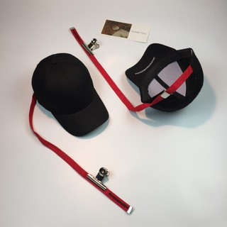 46ccc13a988 Korean Style GD Long Belt Fashion Clip Baseball Cap Black Cool Hiphop Cap