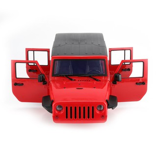 Car Shell Body DIY Kit for 313mm Wheelbase 1/10 Wrangler Jeep Axial SCX10  RC Car