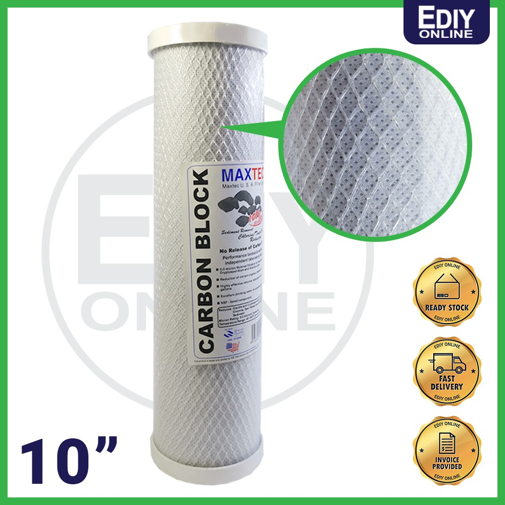 CARBON BLOCK REPLACEMENT FILTER OBE 10 INCHES _4455004
