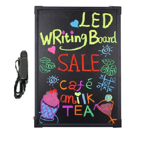 Outdoor Lighted Sign Board LED Writing Board 12 x 16cm