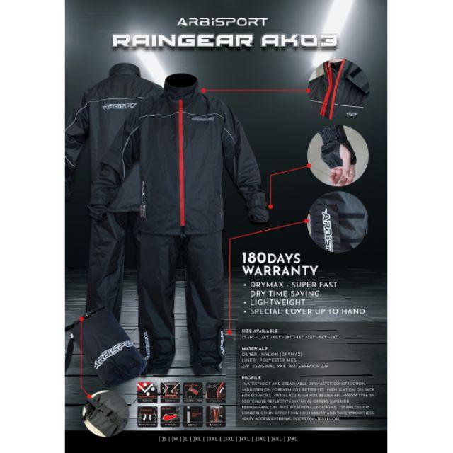 Original Raincoat Araisport