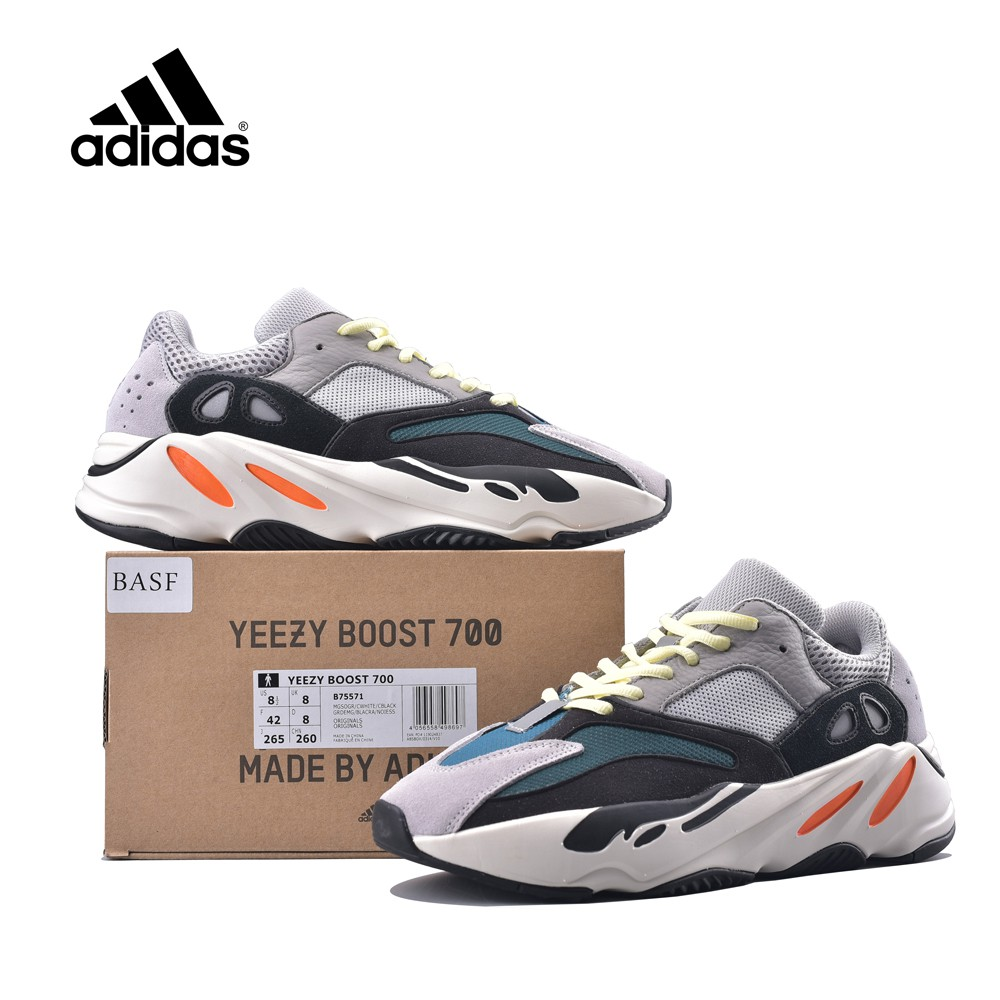 watch bf976 87c81 Adidas Yeezy 700 Wave Runner Solid Grey Sport Shoes