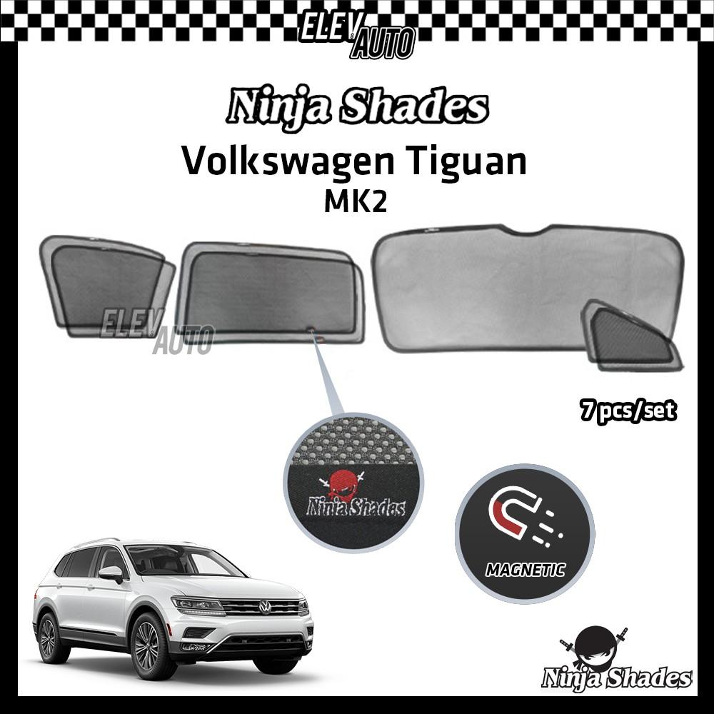 Volkswagen Tiguan MK2 Ninja Shades OEM Magnetic Sunshade