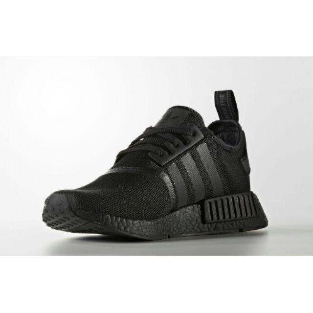 b29ff71f7 Adidas NMD R1 Triple Black