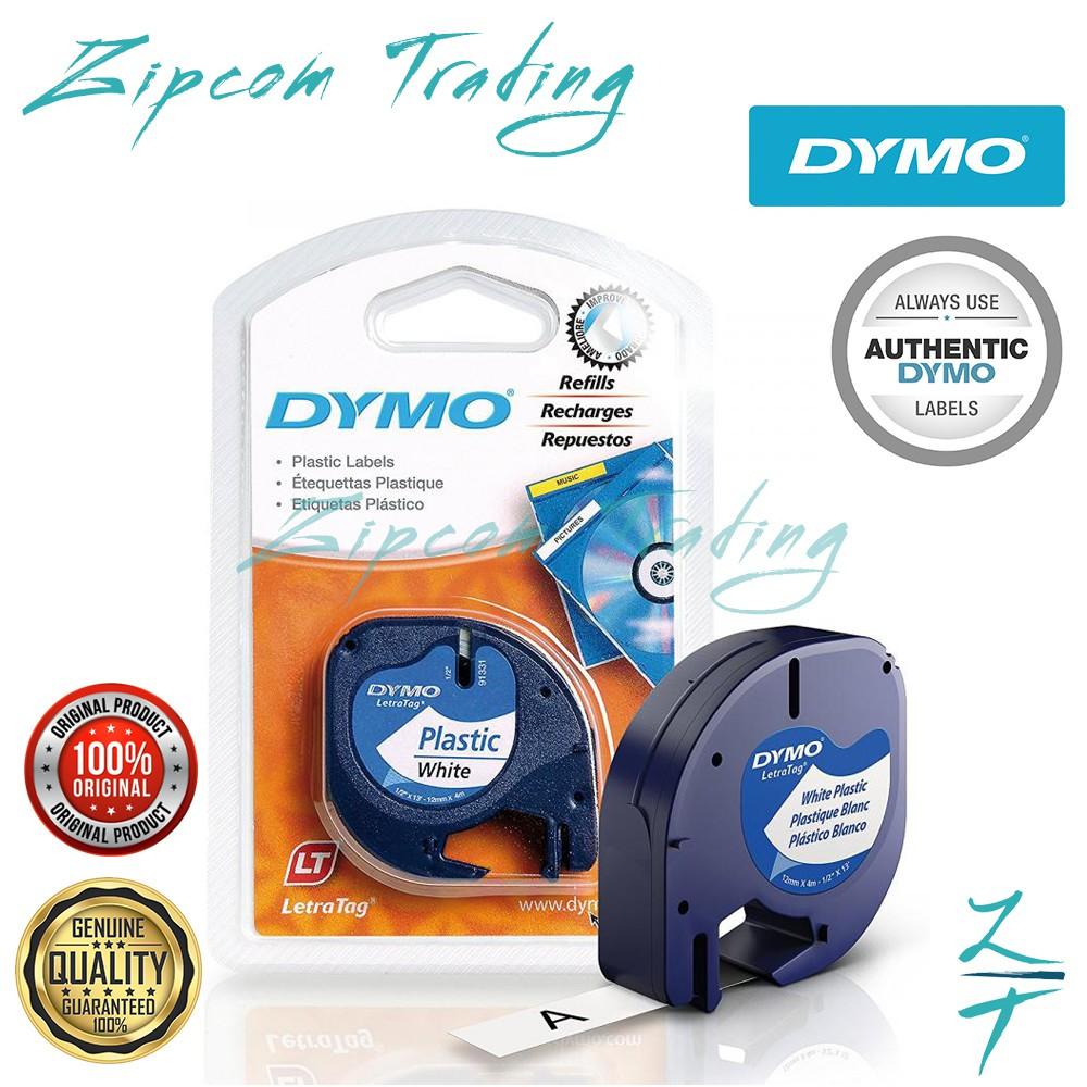DYMO Letratag Label Maker Tape (12 mm x 4 m )