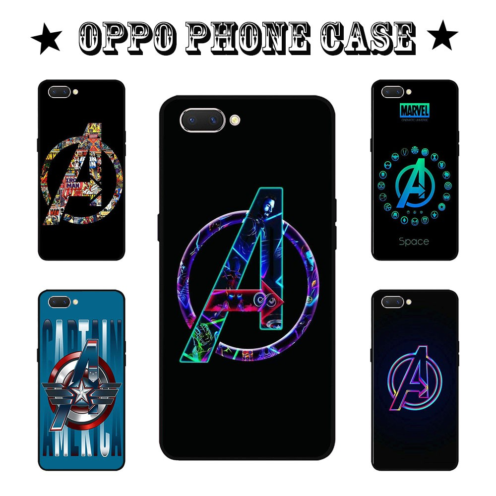 Marvel's The Avengers oppo case for A3s A37 F1s F5 F7 F9 F3 A35 A71 A39 A83