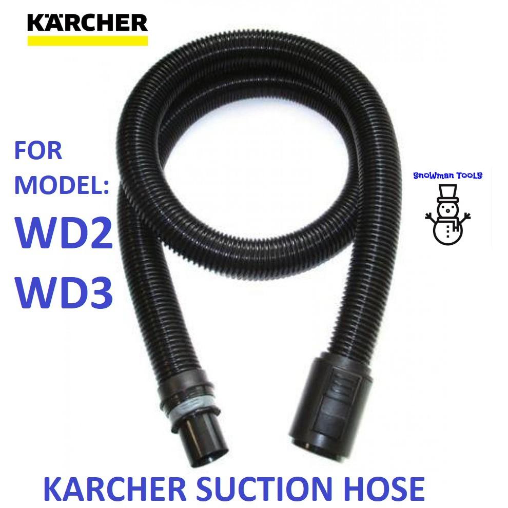 KARCHER 44410660 SUCTION HOSE WITHOUT HANDLE FOR WD3 WD2 PREMIUM MV3 MV2