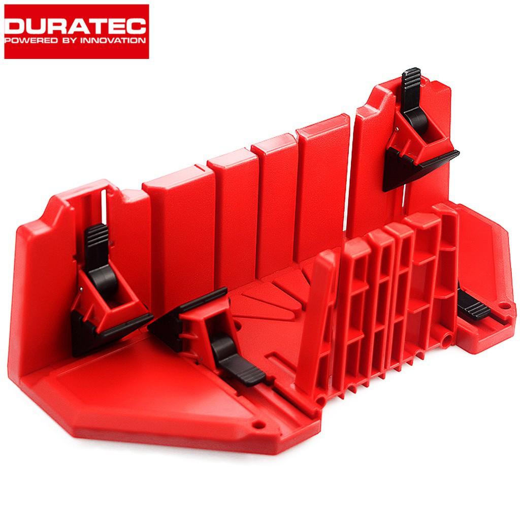 DURATEC 812 Miter Saw Box Wood Clamping