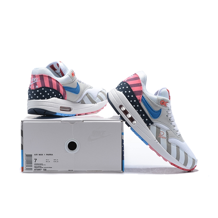release date: c2ffc 8e6ef NIKE AIR MAX 1 PARRA PARRA AT3057 100 Size 36-45   Shopee Malaysia