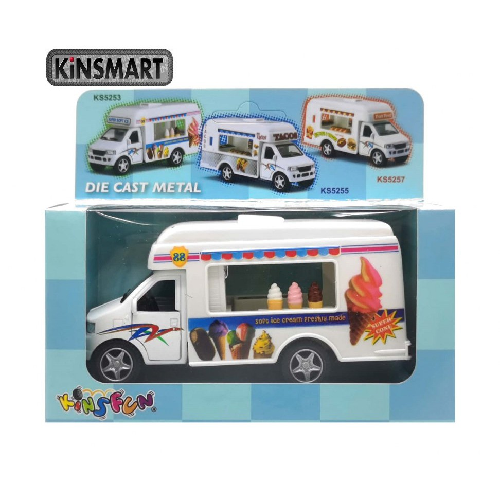 KINSMART 1:50 METAL DIE CAST ICE-CREAM TRUCK MODEL COLLECTION KS5253W