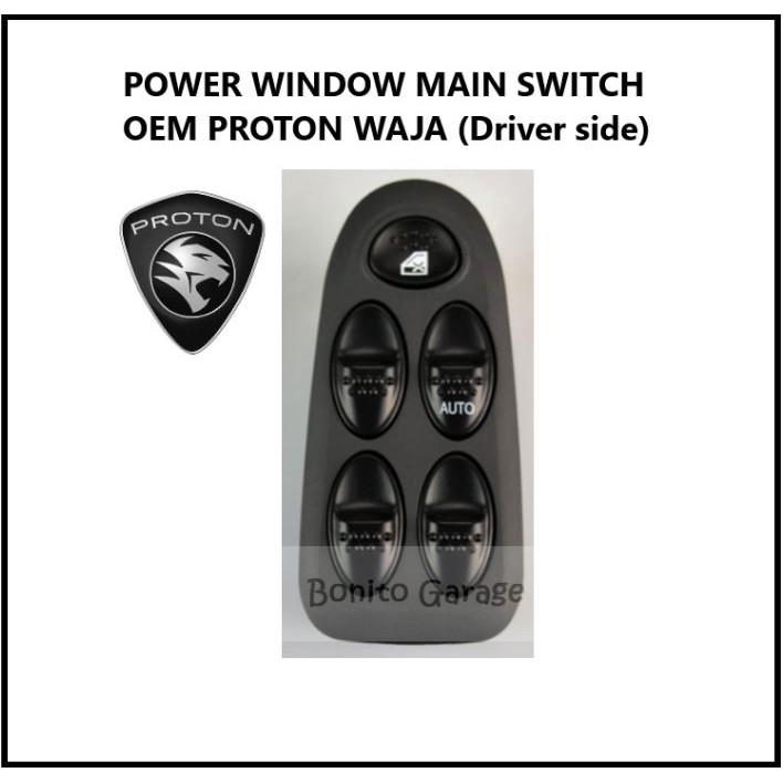 POWER WINDOW MAIN SWITCH OEM PROTON WAJA (Driver side)