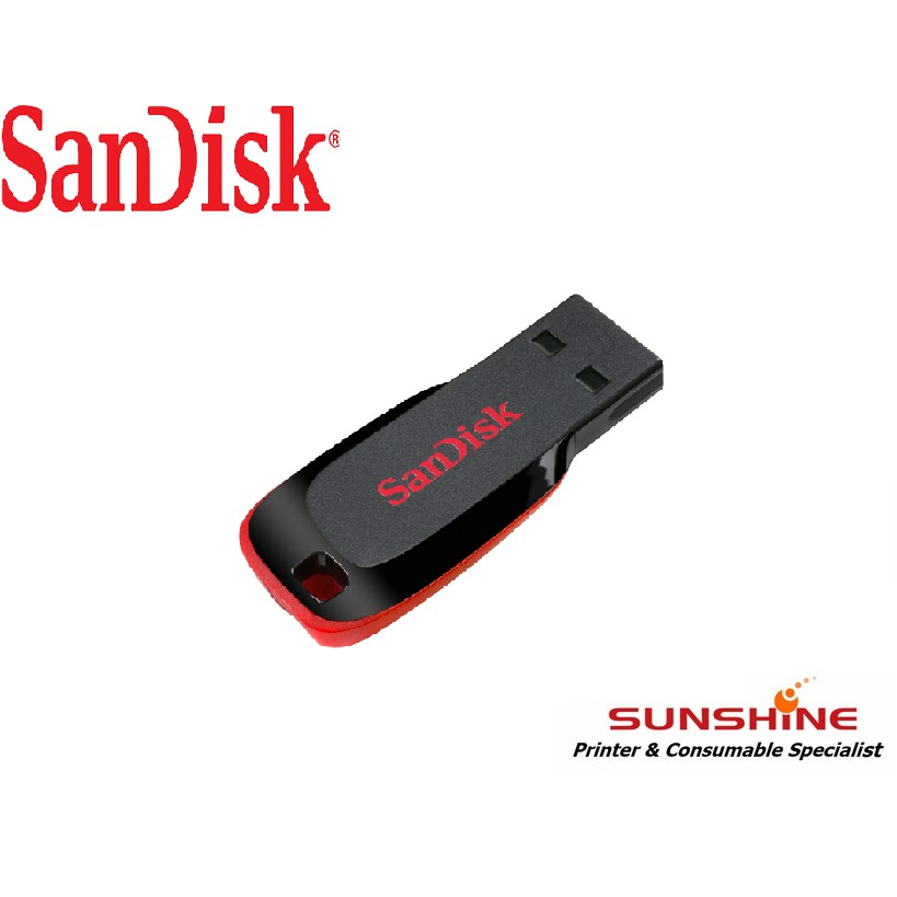 Lot 50 x SanDisk 8GB Cruzer Blade USB Flash Drive Memory SDCZ50-008G-B35 Retail