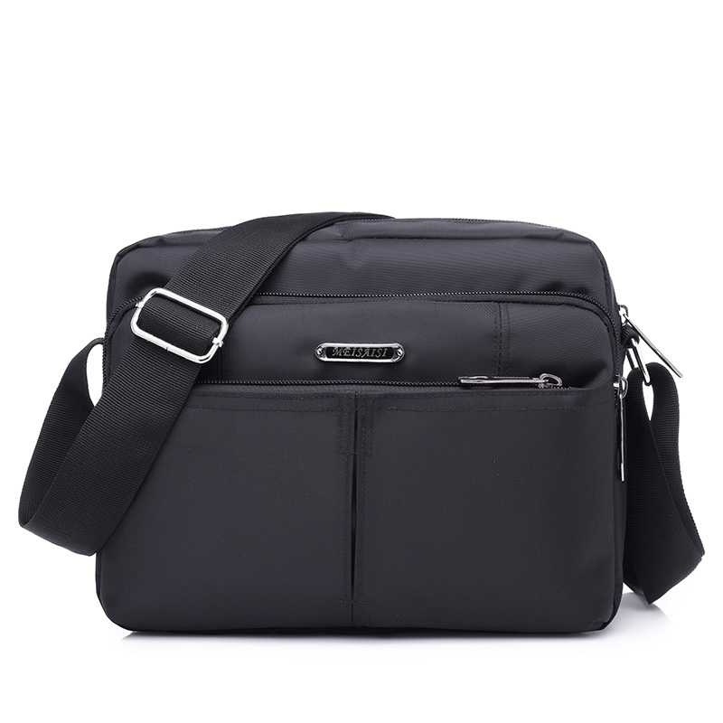 7f5aae0ededc Prada Men s Nylon Shoulder Casual Bag - Black 2VH953 064 F0002 ...