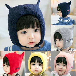faa35ee5d ✨✨Baby Knitting Hats toddler Photography Props funny cute Hat ...