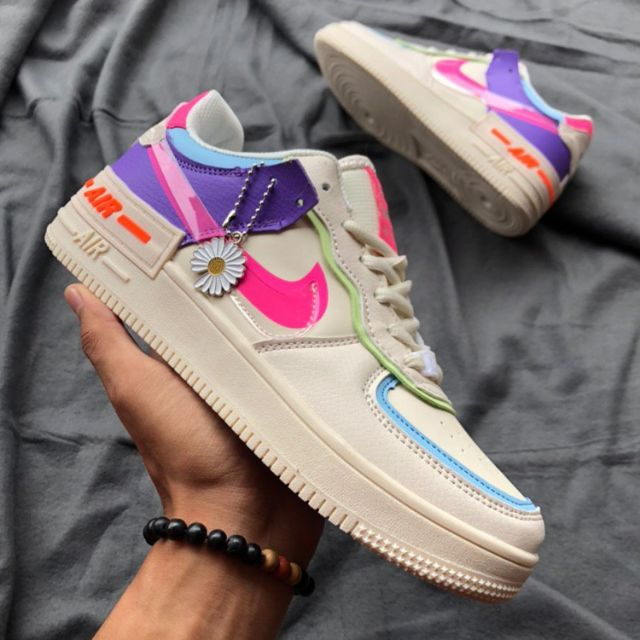 Nike Airforce 1 Shadow (Biege Pale) - 36-40 EURO