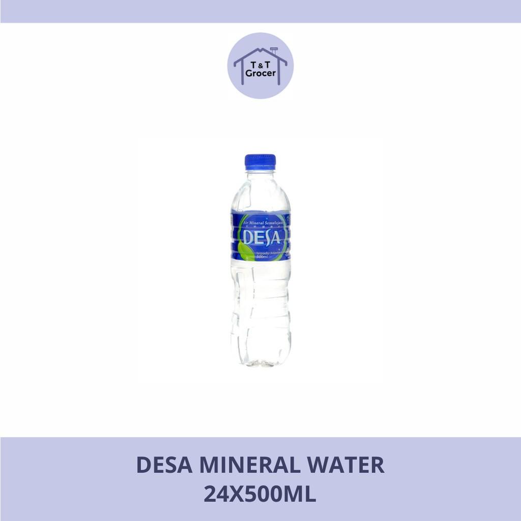 Desa Mineral Water (24x500ml/ 12x1.5L)