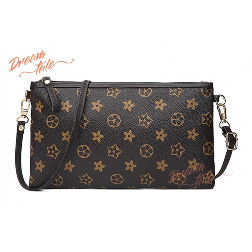 2b0a2b1a4ae9 Dreamtale Women Bag Classic Flower Print Casual Clutch Wristlet Wallet  WFS131