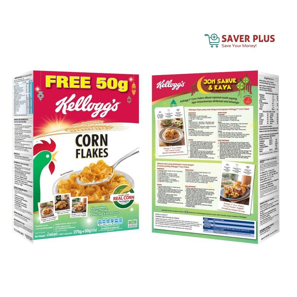 Kellogg's Corn Flakes 325g **PROMO RAMADAN*