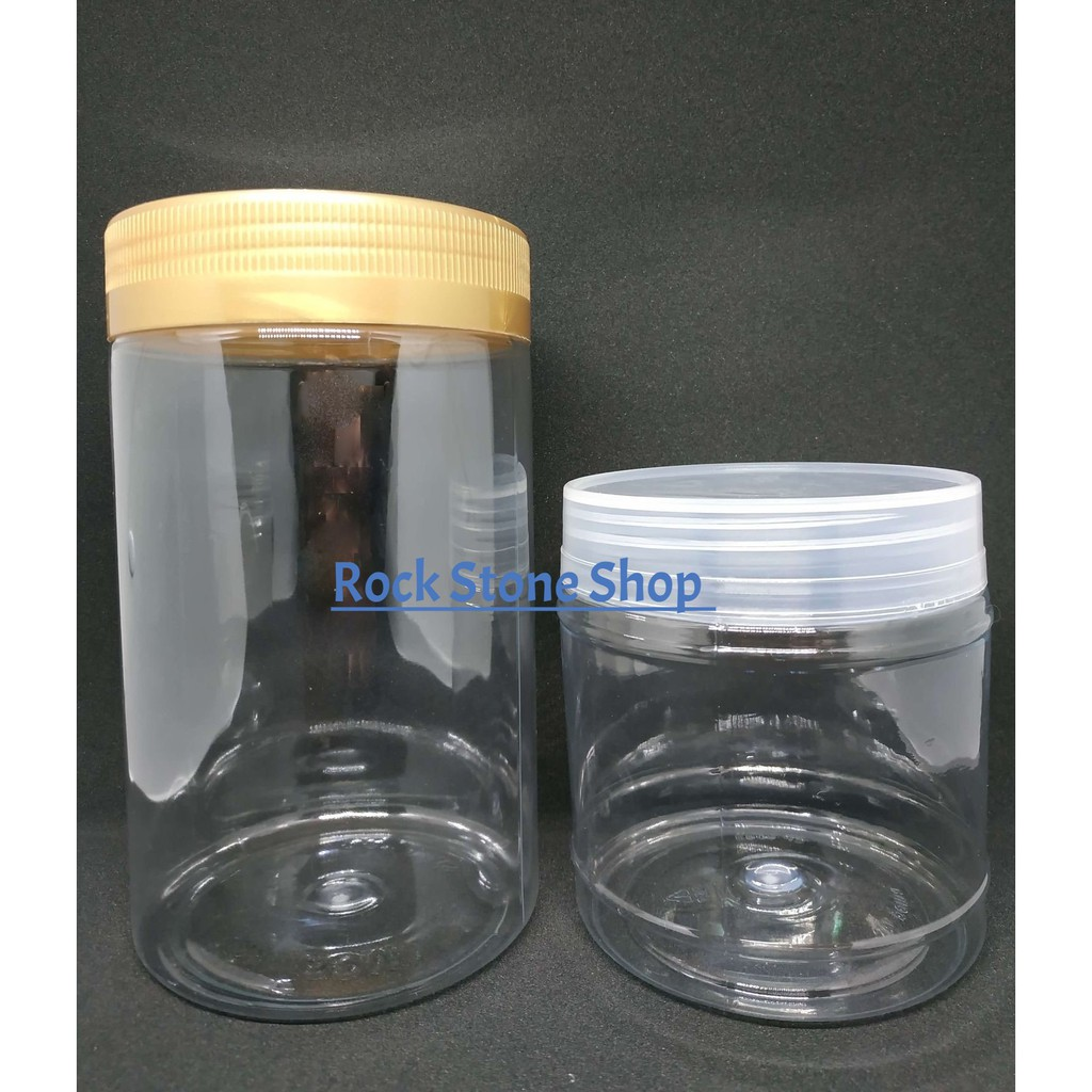 Airtight Storage Plastic Jar Clear Container For Food Snacks Tea Bag | Balang Plastik Kedap Udara Kuih Raya | 密封储存塑胶罐
