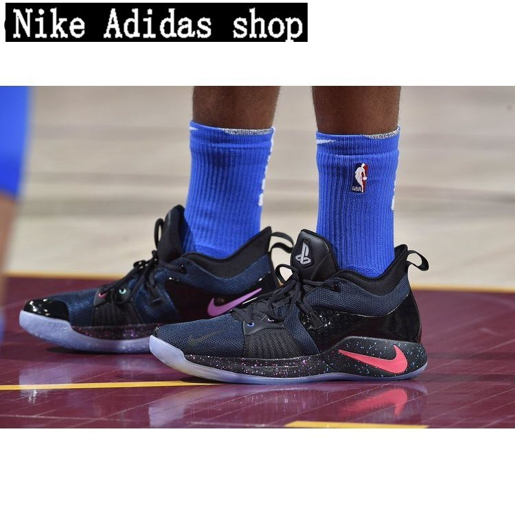 promo code 64c02 d33cc PG2 x PlayStation Paul George 2 PS pickled pepper Male basketball cod shoes