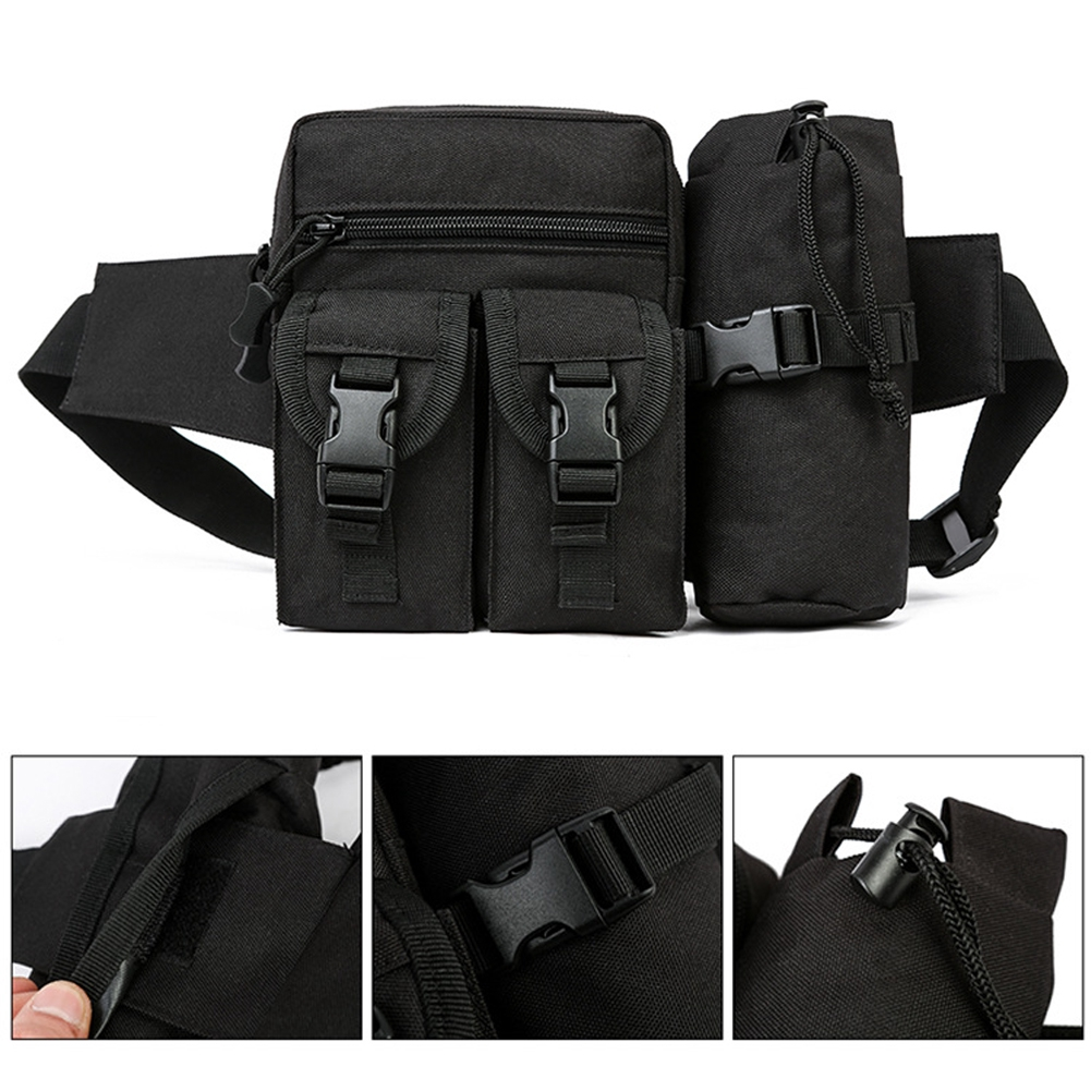 ea3ea233dbc5 Men Women Casual Waterproof Outdoor Sports Large Capacity Adjustable  Portable Waist Pack