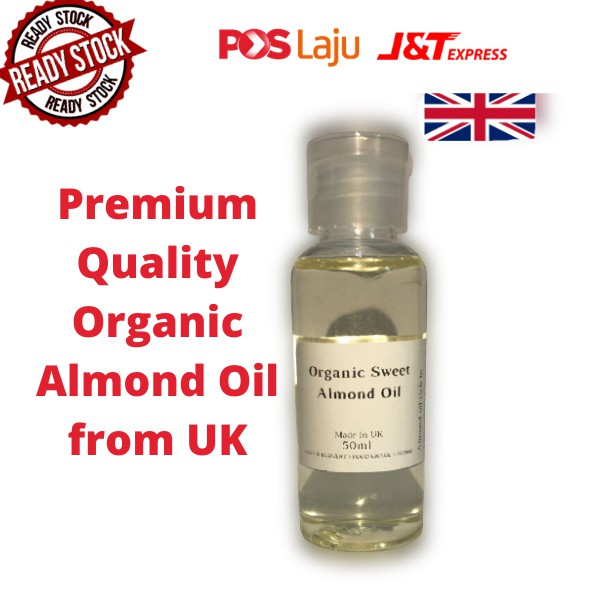 Sweet Almond Oil Premium Quality Cold Pressed (UK)