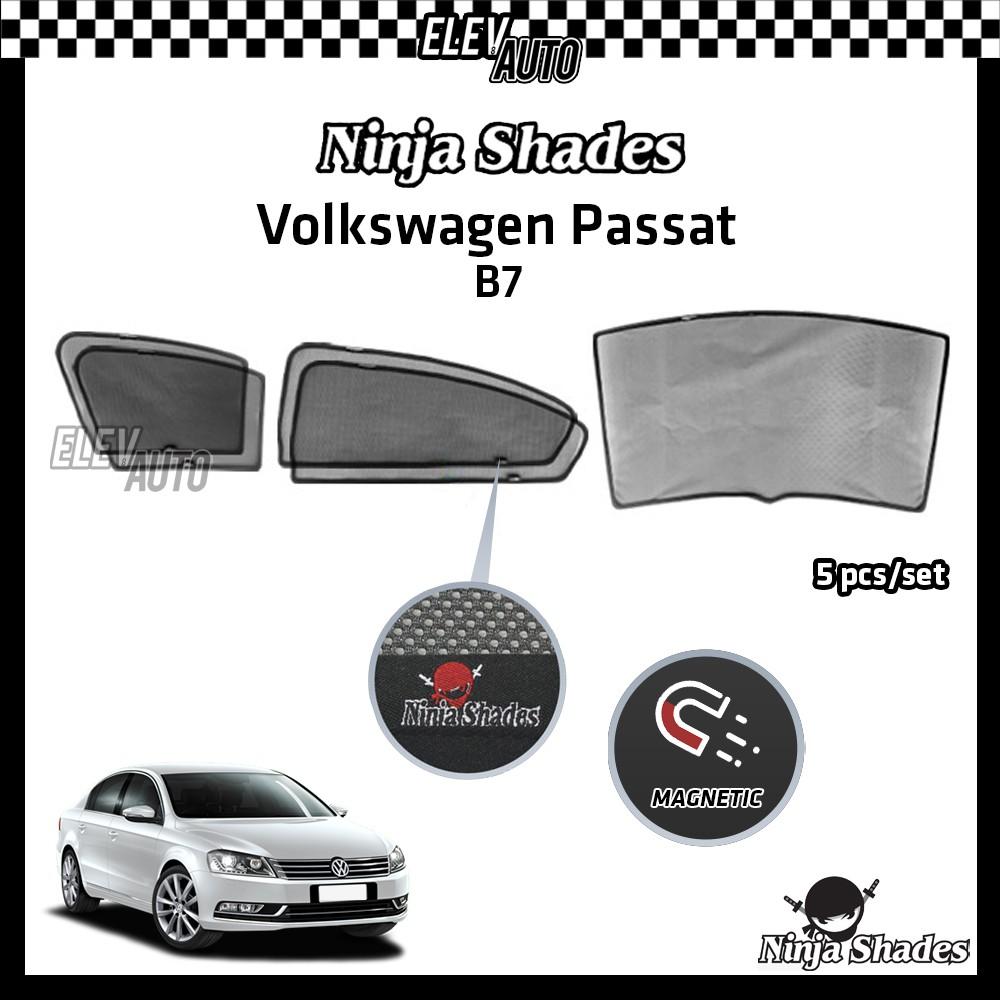 Volkswagen Passat B7 Ninja Shades OEM Magnetic Sunshade
