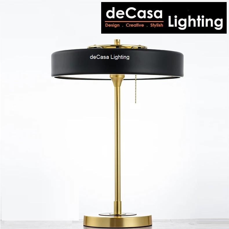 DECASA LIGHTING New Design Modern Designer Table Lamp C/W Led Bulb Table Lighting Lampu Meja (T1122)