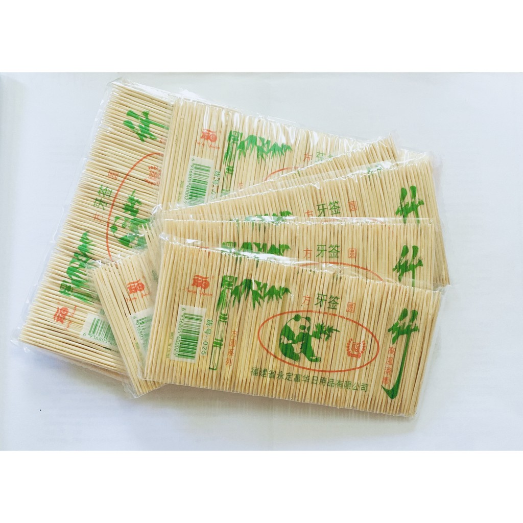 Fine Toothpick Double-Ended Toothpick FangYuan Toothpick 10packs