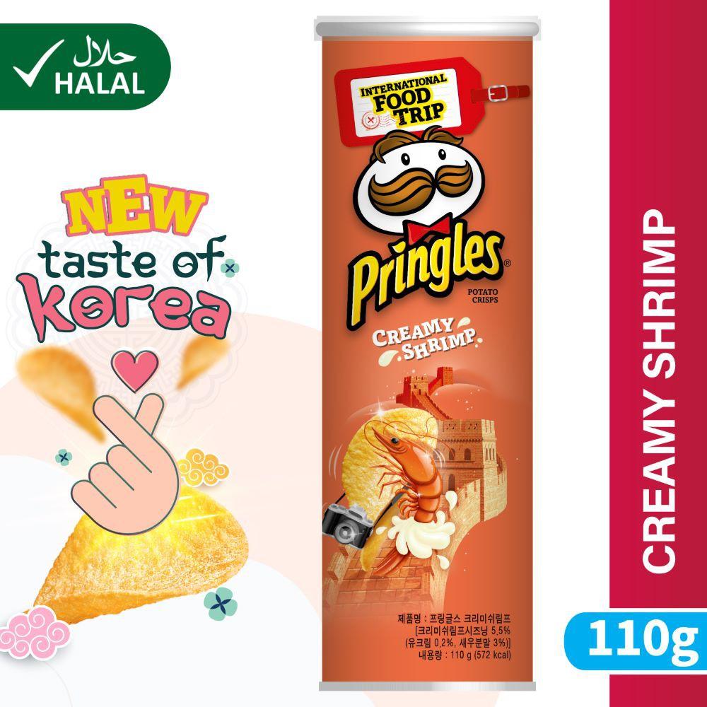 Pringles Korean Creamy Shrimp 110g   Shopee Malaysia
