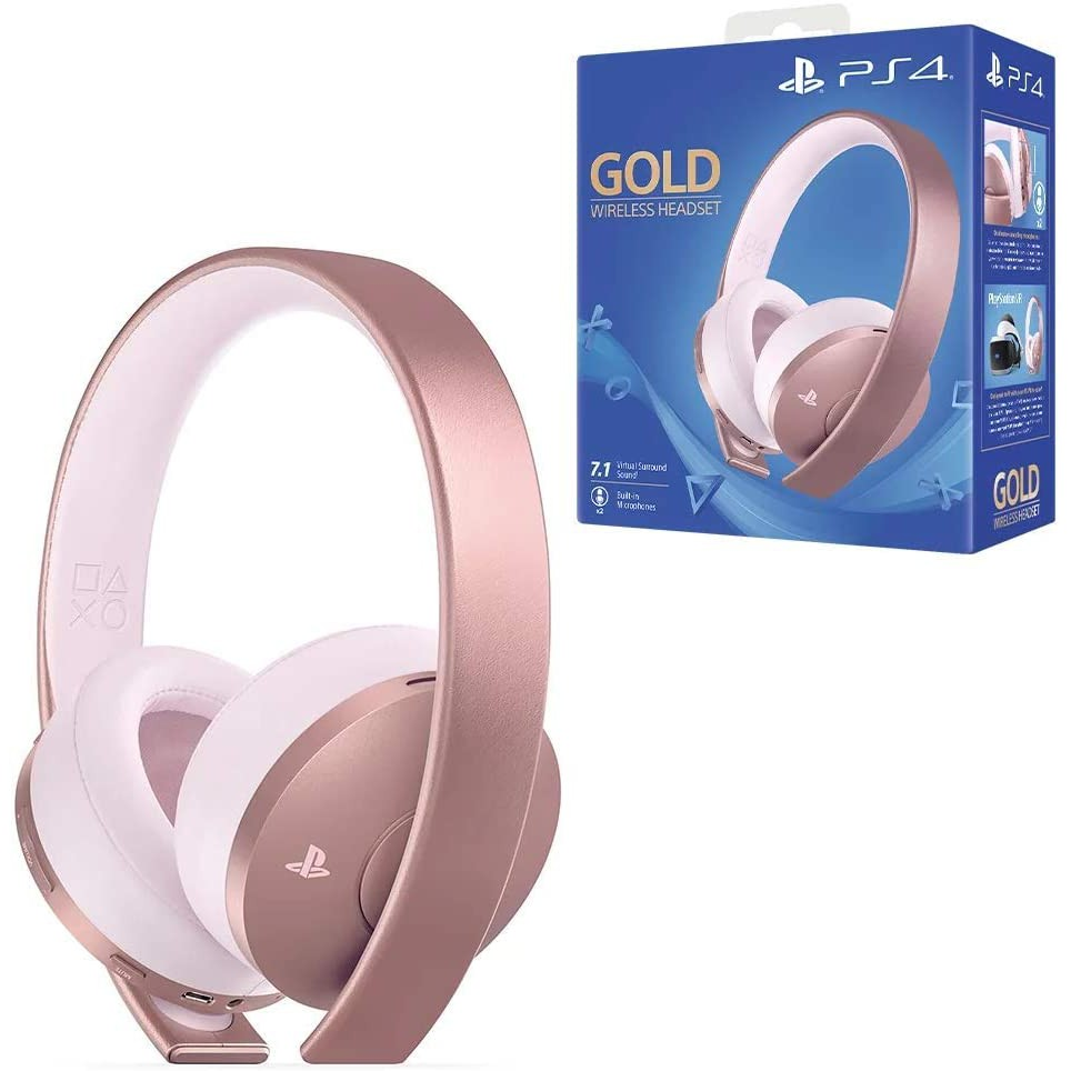PlayStation Gold Wireless Headset Rose Gold