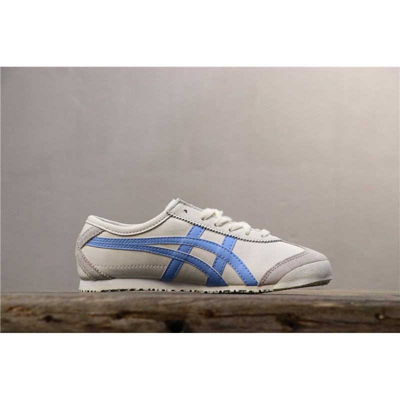 timeless design a7ac3 42b35 Authentic Asics Onitsuka Tiger Men shoes women shoes MEXICO 66 SLIP-ON  leather Casual shoes