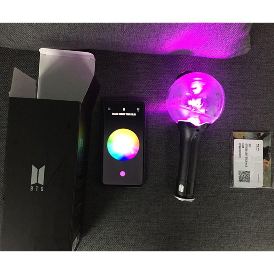 BTS Bluetooth Lightstick Ver 3 Bangtan Boys Light Concert Change Color ARMY  Bomb