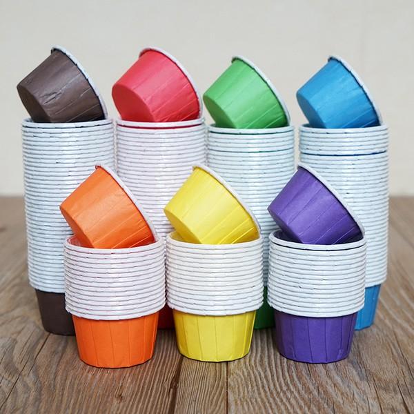 Cup Cake Liner Medium Size (Plain Colour )