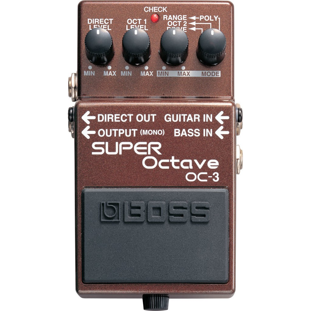 Boss Oc 3 Super Octave Effect Pedal Shopee Malaysia Octaver Fuzz Guitar Effects