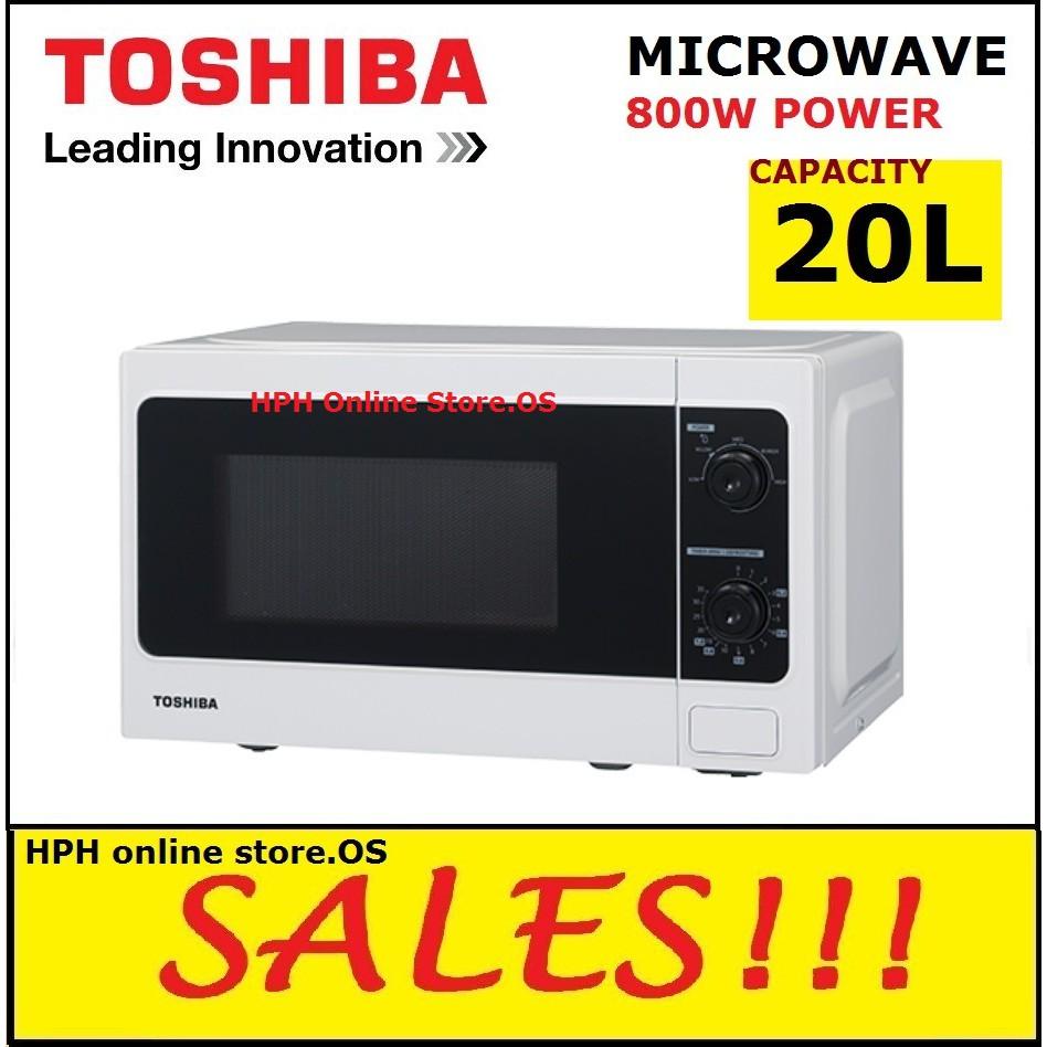 Toshiba Microwave Oven 20l Er Sm20 W My Shopee Malaysia