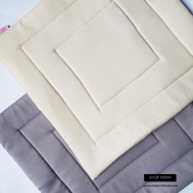 Squishy Mini Sejadah for Umrah Haji Travel Gift in Off White