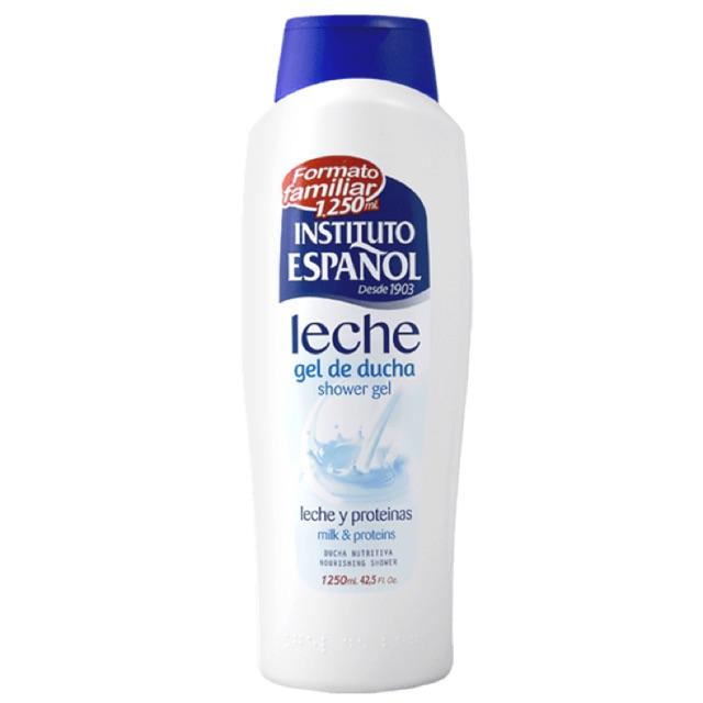 Instituto español Leche gel de ducha 125