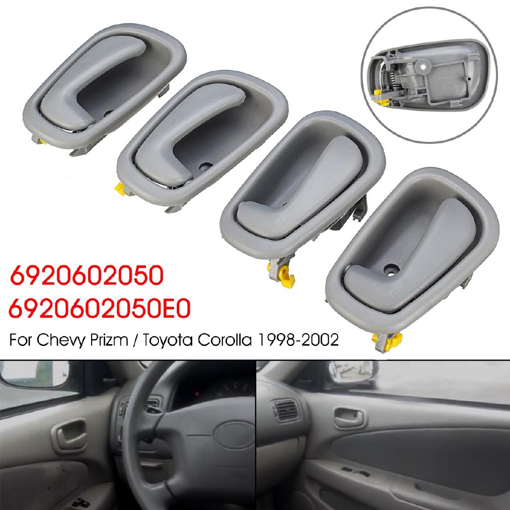 Right Inside New 1Pcs Inner Door Handle For Toyota 1998-2002 Corolla Geo Prizm