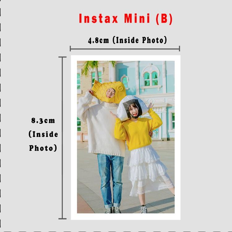 Polariod instax lomo printing/Cuci Gambar Fujifilm Polaroid/Lomo Card/Instax Mini(min 20pcs per order)Suitable For Gift